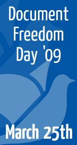 Document Freedom Day 2009