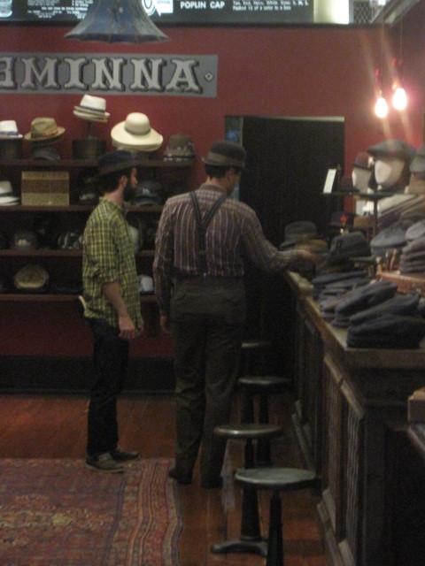 Hipster Hat Shop