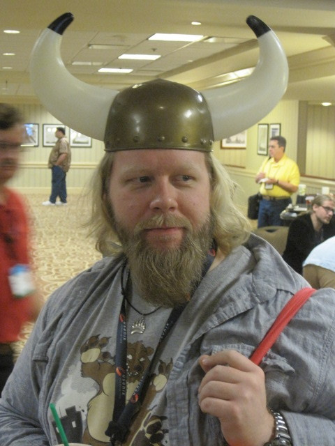 Bob the Scary Viking Sysadmin