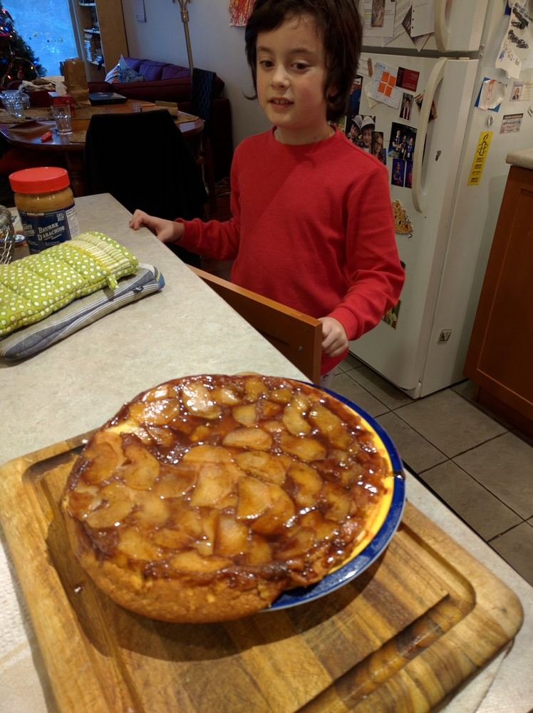 apple pancake!